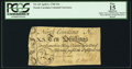 Colonial Notes:North Carolina, North Carolina April 4, 1748 10s PCGS Apparent Fine 15.. ...