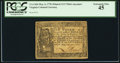 Colonial Notes:Virginia, Virginia May 4, 1778 (Dates Printed) $1/3 PCGS Extremely Fine 45.....