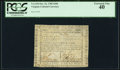 Colonial Notes:Virginia, Virginia October 16, 1780 $300 PCGS Extremely Fine 40.. ...