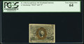 Fractional Currency:Second Issue, Fr. 1246 10¢ Second Issue PCGS Very Choice New 64.. ...