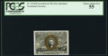 Fractional Currency:Second Issue, Fr. 1314SP 50¢ Second Issue Narrow Margin Face PCGS Choice About New 55.. ...