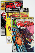 Modern Age (1980-Present):Superhero, The Amazing Spider-Man Long Box Group (Marvel, 1981-93) Condition:Average VF/NM....