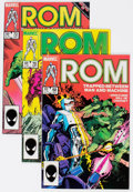 Modern Age (1980-Present):Superhero, Rom and Others Long Box Group (Marvel, 1980s-90s) Condition:Average VF....