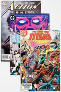 Modern Age (1980-Present):Superhero, DC Modern Age Comics Box Lot (DC, 1980s-90s) Condition: AverageVF/NM....