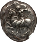 Ancients:Greek, Ancients: CILICIA. Celenderis. Ca. 425-350 BC. AR stater (10.86gm)....