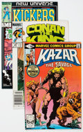 Modern Age (1980-Present):Miscellaneous, Ka-Zar the Savage and Others Box Lot (Marvel, 1980s-2000s) Condition: Average FN/VF....