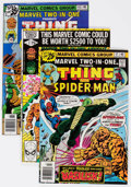 Modern Age (1980-Present):Superhero, Marvel Two-In-One Box Lot (Marvel, 1976-80) Condition: AverageFN....