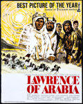 "Movie Posters:Academy Award Winners, Lawrence of Arabia (Columbia, 1963/R-1971). Uncut Pressbook (20Pages, 14"" X 17.5""), & Ad Slick (6 Pages, 11"" X 17.25""). Aca...(Total: 2 Items)"