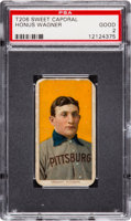 Featured item image of 1909-11 T206 Sweet Caporal Honus Wagner PSA Good 2. ...