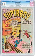 Silver Age (1956-1969):Superhero, Superboy #85 (DC, 1960) CGC NM 9.4 Off-white to white pages....