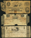 Obsoletes By State:Ohio, Mount Vernon, OH- Owl Creek Bank of Mount Vernon $1 Nov. 9, 1816G12 Wolka 1750-05;. Xenia, OH- State Bank of Ohio, Xenia ...(Total: 3 notes)