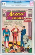 Silver Age (1956-1969):Superhero, Action Comics #288 (DC, 1962) CGC NM- 9.2 Off-white to white pages....