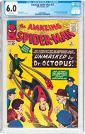 Silver Age (1956-1969):Superhero, The Amazing Spider-Man #12 (Marvel, 1964) CGC FN 6.0 Off-white pages....