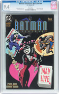 Modern Age (1980-Present):Superhero, Batman Adventures: Mad Love #1 (DC, 1994) CGC NM 9.4 Whitepages....