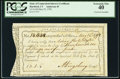 Colonial Notes:Connecticut, State of Connecticut Interest Certificate PCGS Extremely Fine 40, CC.. ...