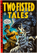 Original Comic Art:Miscellaneous, Jack Davis Two-Fisted Tales #30 Reprint Cover Color GuideProduction Art (Russ Cochran, 1974)....