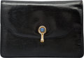 "Luxury Accessories:Bags, Gucci Black Lizard Envelope Clutch Bag. Good Condition. 8"" Widthx 5.5"" Height x 1"" Depth. ..."