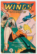 Golden Age (1938-1955):War, Wings Comics #94 (Fiction House, 1948) Condition: VG+....