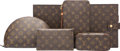 Luxury Accessories:Accessories, Louis Vuitton Set of Six; Classic Monogram Canvas Accessories. Very Good Condition. Various Sizes. ... (Total: 6 )