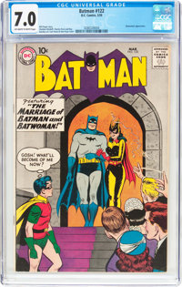 Batman #122 (DC, 1959) CGC FN/VF 7.0 Off-white to white pages