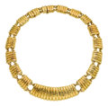 Estate Jewelry:Necklaces, Gold Necklace, David Webb. ...