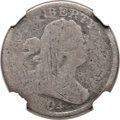Half Cents, 1804 1/2 C Crosslet 4, Stems, C-2, B-3, FS-301, High R.6 -- Tooled, Scratches -- NGC Details. AG....