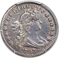 Early Half Dimes, 1797 H10C 13 Stars, V-1, LM-4, R.5 -- Repaired -- PCGS Genuine. AUDetails....