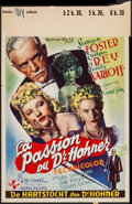 """Movie Posters:Horror, The Climax (Universal, late 1940s). Belgian (14.25"""" X 21.5""""). Horror.. ..."""