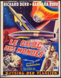 "Movie Posters:Science Fiction, When Worlds Collide (Paramount, 1951). Belgian (14"" X 17.75"").Science Fiction.. ..."