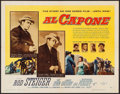 "Movie Posters:Crime, Al Capone (Allied Artists, 1959). Half Sheet (22"" X 28"") Style B.Crime.. ..."