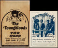 "Movie Posters:Rock and Roll, The Youngbloods Concert Poster Lot (1970). Concert Window Card (14""X 22"") & Concert Poster (13"" X 17""). Rock and Roll.. ...(Total: 2 Items)"