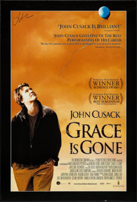 """Grace is Gone (Weinstein, 2007). Autographed One Sheet (27"""" X 40"""") SS. Drama"""