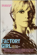 """Movie Posters:Drama, Factory Girl (MGM, 2006). Autographed One Sheet (27"""" X 40"""") SS. Drama.. ..."""