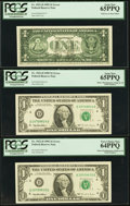 Error Notes:Error Group Lots, A Potpourri of Series 1995 $1 Federal Reserve Error Notes.. ...(Total: 5 notes)