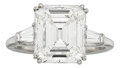 Estate Jewelry:Rings, Diamond, Platinum Ring, Harry Winston. ...