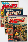 Golden Age (1938-1955):War, Fightin' Marines #6, 7 and 10 Group (St. John, 1952).... (Total: 3Comic Books)