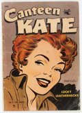 Golden Age (1938-1955):Romance, Canteen Kate #2 (St. John, 1952) Condition: GD-....