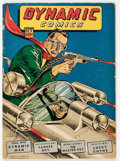 Golden Age (1938-1955):Superhero, Dynamic Comics #9 (Chesler, 1944) Condition: VG-....