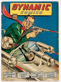 Dynamic Comics #9 (Chesler, 1944) Condition: VG-