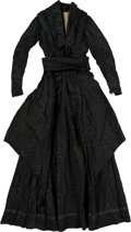 Political:Presidential Relics, Mary Todd Lincoln: Silk Mourning Dress Ensemble....