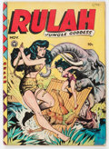 Golden Age (1938-1955):Adventure, Rulah Jungle Goddess #20 (Fox Features Syndicate, 1948) Condition: GD/VG....
