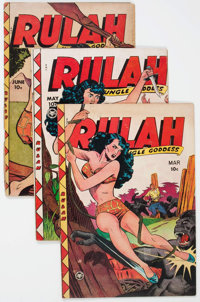 Rulah Jungle Goddess #24, 26, and 27 Group (Fox Features Syndicate, 1949).... (Total: 3 Comic Books)