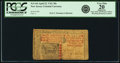 Colonial Notes:New Jersey, New Jersey April 23, 1761 30 Shillings Fr. NJ-144. PCGS Very Fine20 Apparent.. ...