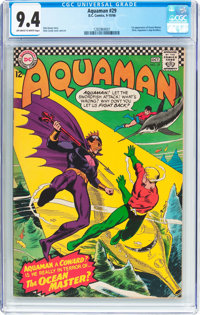 Aquaman #29 (DC, 1966) CGC NM 9.4 Off-white to white pages