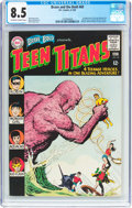 Silver Age (1956-1969):Superhero, The Brave and the Bold #60 Teen Titans (DC, 1965) CGC VF+ 8.5 Off-white to white pages....