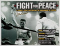 Boxing Collectibles:Autographs, Muhammad Ali Signed Flyer....