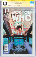 Modern Age (1980-Present):Science Fiction, Doctor Who: The Eleventh Doctor #7 Signature Series (Titan Comics,2015) CGC NM/MT 9.8 White pages....