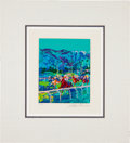 Miscellaneous Collectibles:General, 1979 Leroy Neiman Signed Santa Anita Serigraph....
