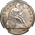 Seated Dollars, 1854 $1 -- Repaired -- NGC Details. AU. OC-1, High R.3....