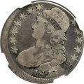 1828 50C Square Base 2, Small 8s, Large Letters, O-116, R.2 -- Struck 5% Off Center -- VG8 NGC....(PCGS# 39770)